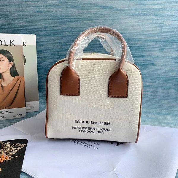 women handbag purse canvas barberry purses bag square style ladies purses fashion totes bag (492059682) photo