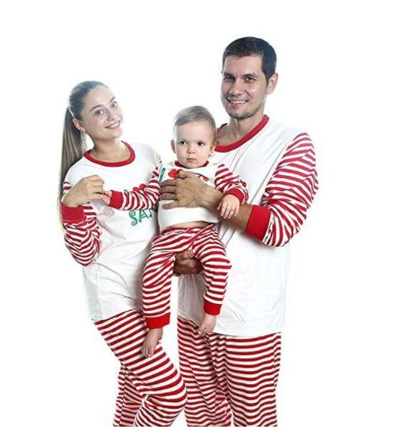 Brand New Fashon Family Match Christmas Взрослых женщины Дети Пижама Пижама Пижама Set фото