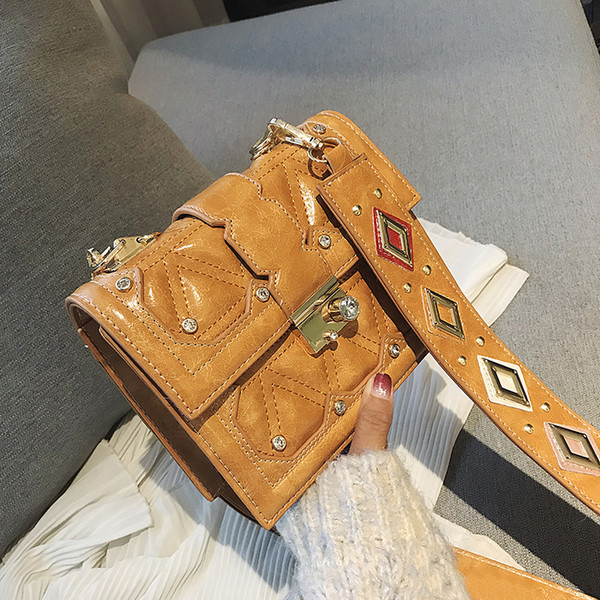 2019 brand rivet women messenger mini bags purse casual crossbody bags purse messenger bags zhixiang/9 (493045505) photo