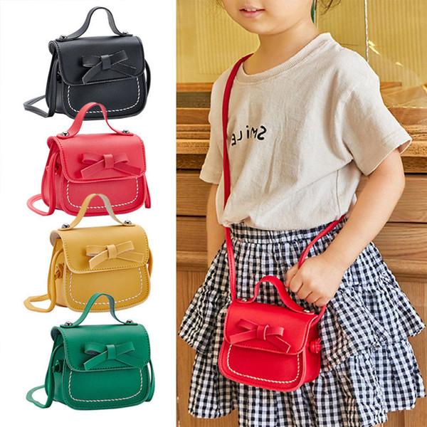 girl handbags 2020 fashion children toddler baby girls messenger bags kids girl princess school shoulder bag handbag bowknot coin purses (521274392) photo