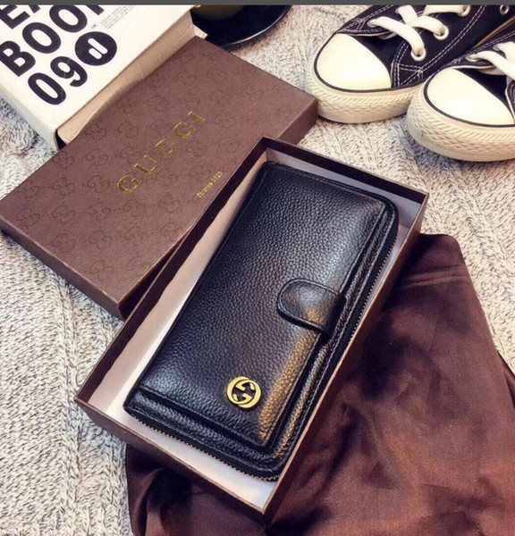 wholesale fanny pack fashionable lady's single zipper purse lady's leather purse lady's long purse (514613747) photo
