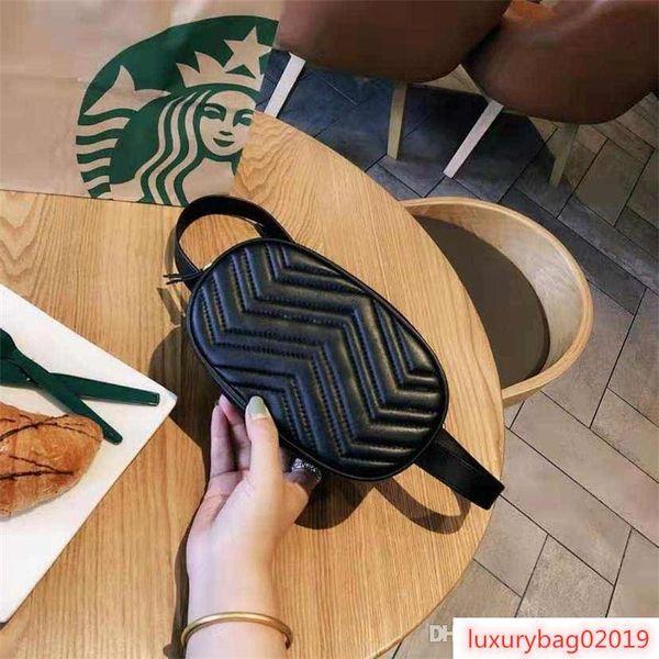 fannypack designer luxury handbag purses waist bag diamond lattice women man belt bag purses (514294256) photo