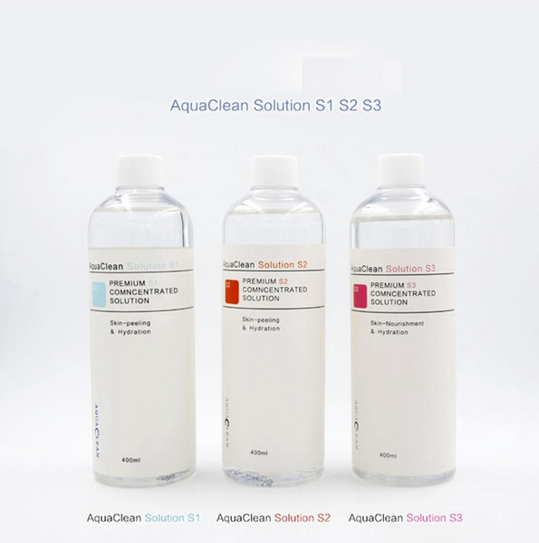 New arrival aqua clean peel olution 400ml per bottle aqua facial erum hydra facial erum for normal kin care