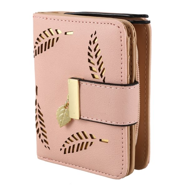 women wallet purse female small wallet lady short wallets(apricot) (524547451) photo