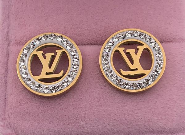 LU020 горячий продавать бренд ювелирных изделий с бриллиантами любовника серьги ст фото