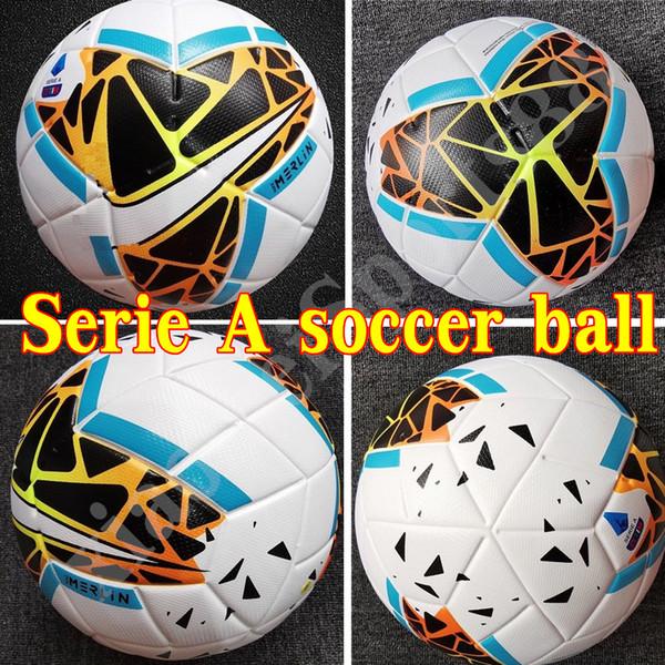 Новый 19 20 Лучшее качество Club Serie A Футбольный мяч 2019 2020 размер 5 шариков гранулы про фото