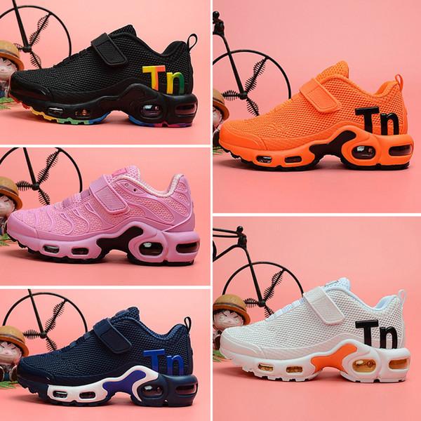 Nike Tn Plus air max Mercurial 2.0 новые дизайнерские детские спортивные кроссовки 2018 кпу кроссовки малышей мальчиков тн кроссовки теннисные шосуры детские аутентичные кроссовки