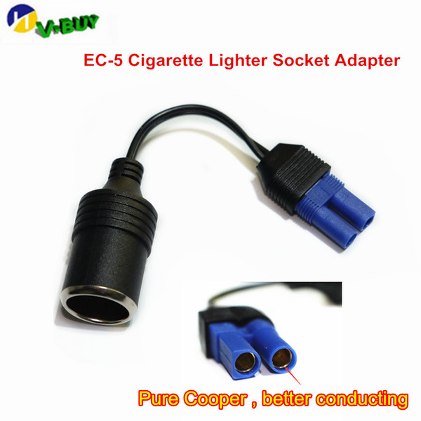 universal dc adapter car emergency start power adapter cable ec5 picture seat cigarette lighter (499998900) photo