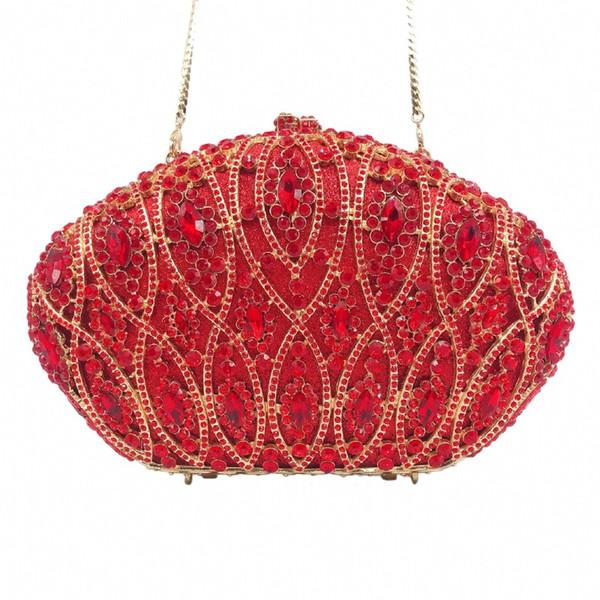 female green red women crystal diamond clutch purse evening bags party cocktail purses wedding handbags evening bag (549858416) photo