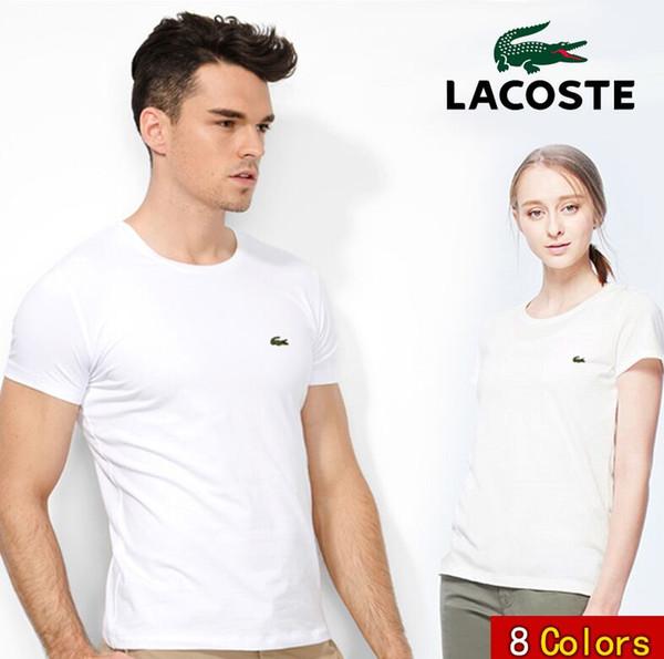 2019 new brand ummer hort leeve printing ca ual male crocodile embroidery t hirt lim man 039 t hirt fa hion tee top 5xl