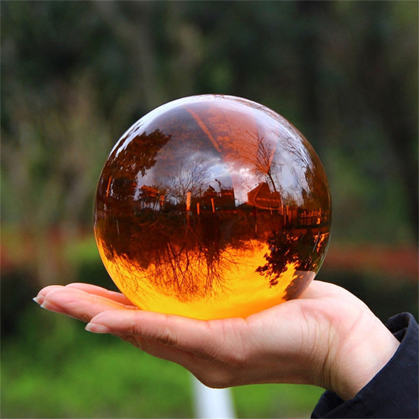 Фотография хрустальный шар 10 цветов стеклянная сфера фотография фотосъемка реквизит объектив прозрачный круглый искусственный шар декор подарок фото
