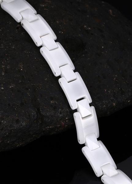 top_couleur_blanc_qualité_bracelets_en_céramique_pour_les_femmes_hématite_charm_bracelets_femme_bracelets_femme