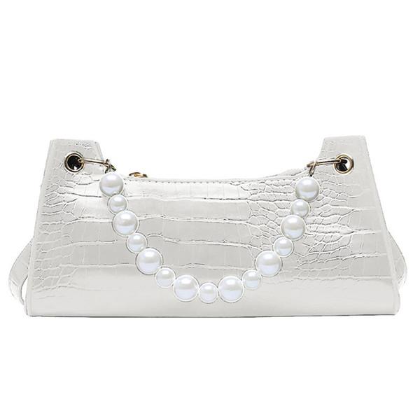 women girl fashion crocodile pattern pu leather handbag shoulder messenger bag satchel tote purse (549074697) photo