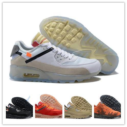 Chaussures 90 Off Мужские Дизайнерские Кроссовки Zapatillas Hombre 90 Mars Landing Кроссовки Desert Ore Man Spor