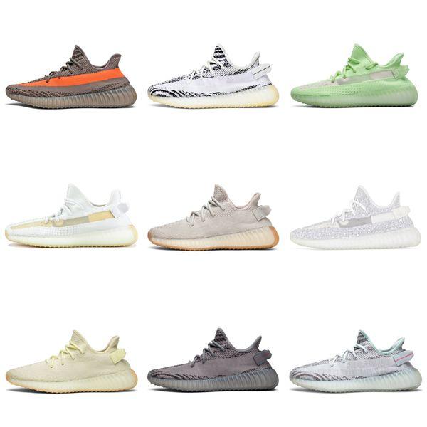 Adidas Yeezy 350 V2 Boost Мужские Кроссовки Крем Белый Зебра Масло Белуга 2.0 Kanye West женщины Сп