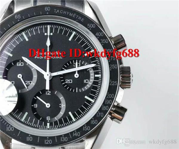 JH V2 новый роскошный профессиональный Moonwatch 42 мм мужские часы с ручным заводом 1863 м фото