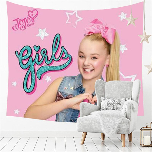 Америка Популярная Маленькая Симпатичная Девочка Jojo SIwa Счастливая Розовая Девуш фото