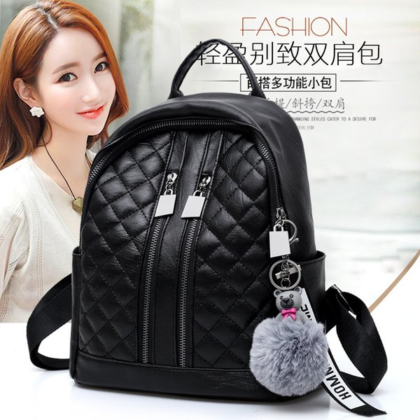 2019 new upscale de backpack bag mulheres mulheres backpack purse (521233640) photo