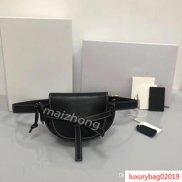 fannypack designer bags loevy women designer waist purses puzzel genuine leather women fashion belt purses designer bag (512355412) photo