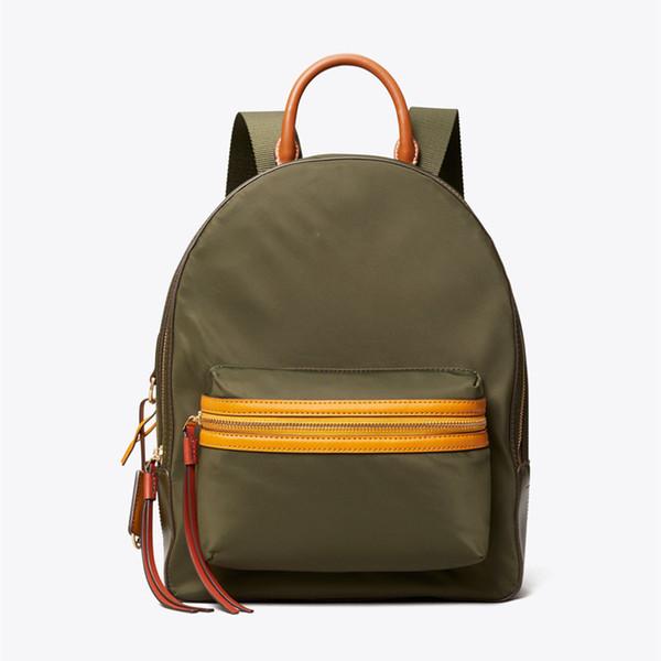 Новый Прибыл! Номер New Perry Color-Block Zip стиль Рюкзак 58400 В Прочный нейлон моды Brand New Style W