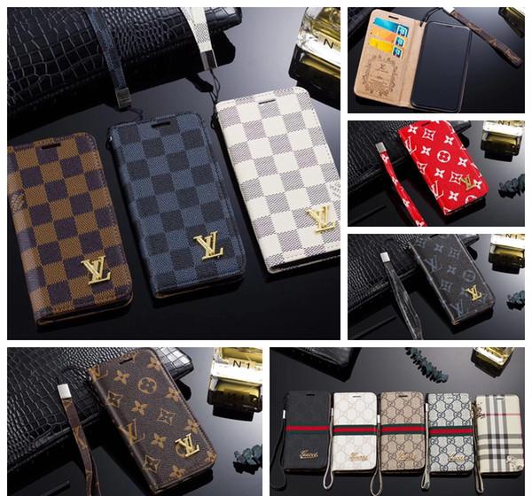 Luxury phone cover for  am ung  10 plu  edge note9 note8  9  8plu  for iphone x x  xr max 6 7 8 plu  leather de igner ca e 007
