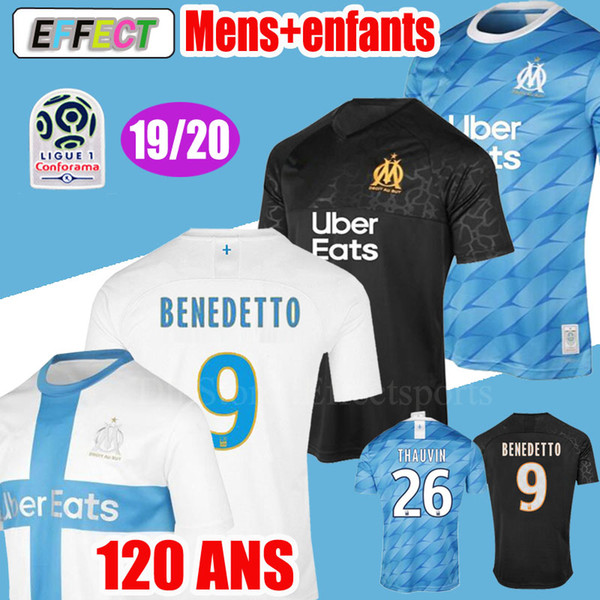 2019_olympique_de_mar_eille_benedetto__occer_jer_ey_2020_maillot_de_foot_payet_120_year__thauvin_19_20_om_home_enfant_kid__football__hirt