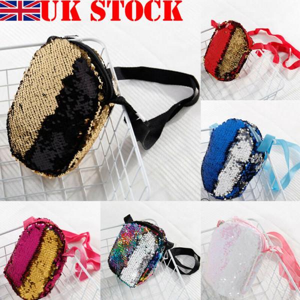 fashion kid girl coin purse sequin cute mini round crossbody handbag tote shoulder bag messenger bags purse (520299330) photo