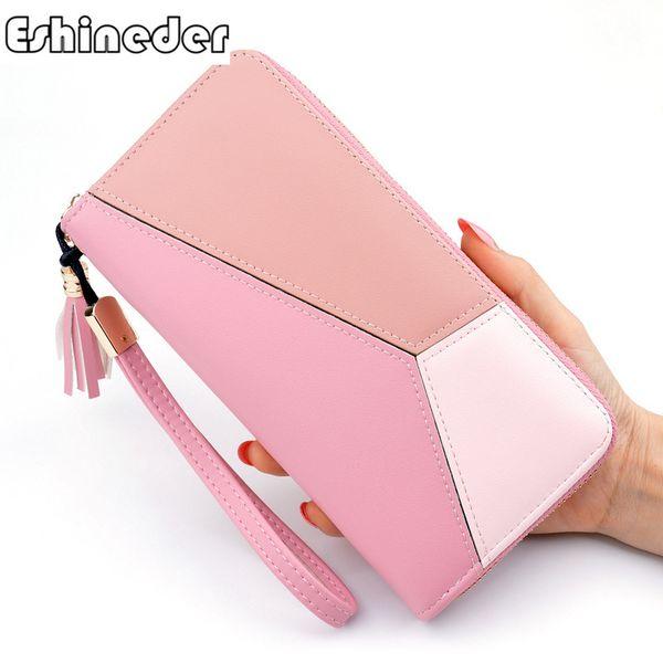 women wallet purse coin purse pu leather wallet female id card cash holder long lady clutch purse carteira feminina (468149690) photo