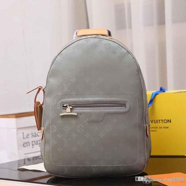 Мужская и женская сумка через плечо, многофункциональный большой рюкзак, кожаная продукция, сумка для горного отдыха: M41561-3,