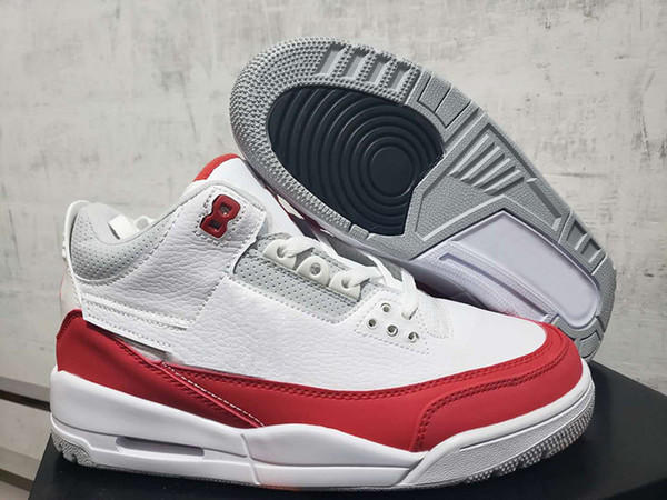 New Cheap JTH 3 Tinker 3AIRMax 1 Basketball Shoes for Men CJ0939-100 White University Red Mens Sport trainers Sneakers