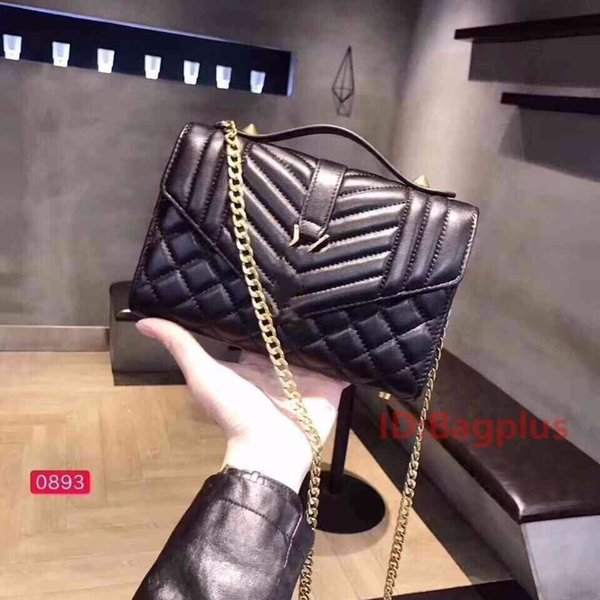 r handbag letter plaid luxury handbags purses solid black new leather handbags designer luxury handbags purses (515516828) photo
