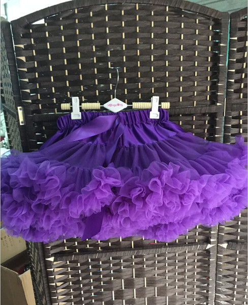 1-18 year old full size Baby Girls Tutu Skirt Fluffy Children and Women Ballet Pettiskirt Princess Tulle Party Dance Skirts