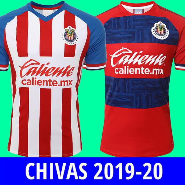 19 20 liga mx chiva guadalajara pink green occer jer ey 2019 2020 home brizuela chiva football hirt pulido lopez cami a pizarro maillot