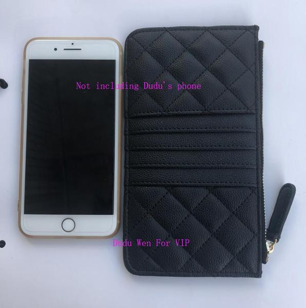 19.5X11.5Cm решетки алмаз PU кожаного телефона сумка классических карты держатель моне фото