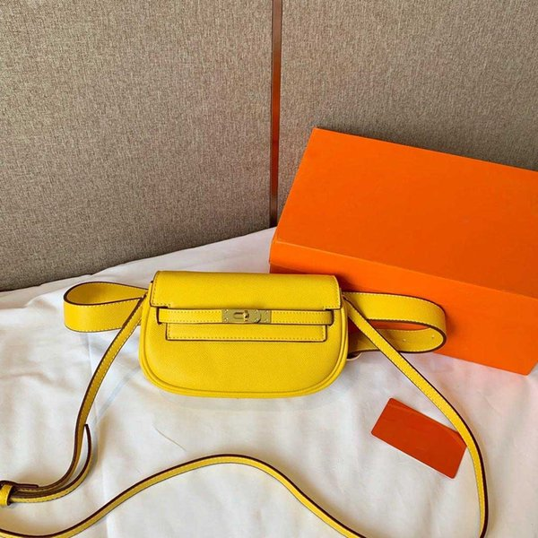 Горячие продажи бренд дизайнер женщин талии сумка мода двойная функция дизайнер фото
