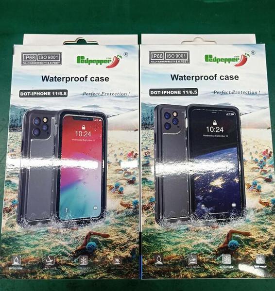 IPhone 11 Водонепроницаемый чехол, полный Герметичный подводный защитный чехол, водо фото