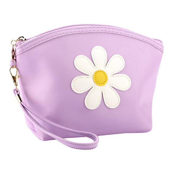 cute flower women's coin purse fashion mini small leather female keys card cash bag wallet casual pouch purses for girl #lr2 (520520495) photo
