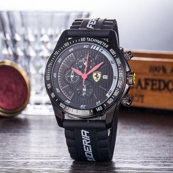 2020 новые модные спортивные часы Ferrari мужчин и женщин дизайнеров многофункциональ фото