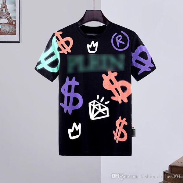 mens designer t shirts Mens Skull T-shirt High Quality printing t shirt Tees designer sneakers belt phillip plain Phillip Plain PP yy42