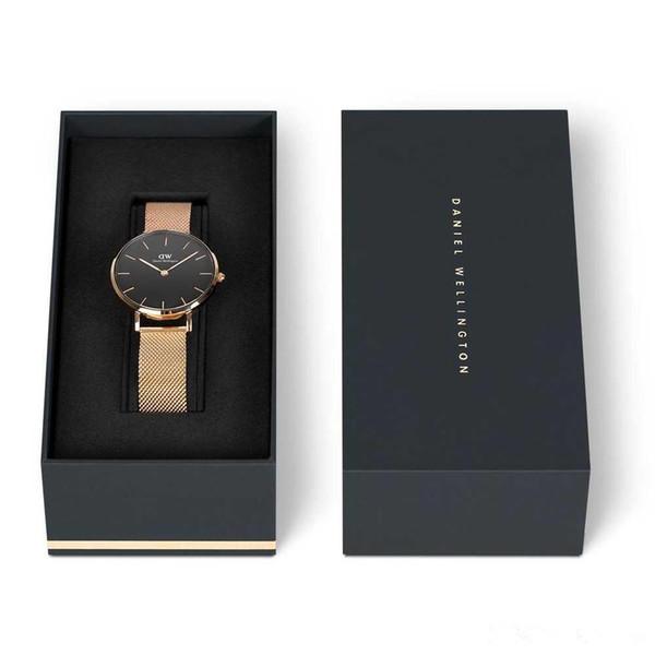 2019 новые женские часы водонепроницаемые розовое золото из нержавеющей стали LBrand