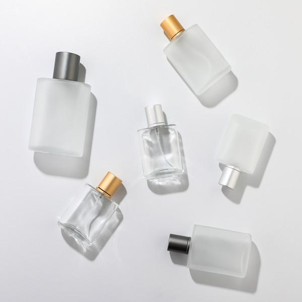 30 мл 50 мл 100 мл матированного стекла бутылка спрей высокого класс духи дозирующей фото