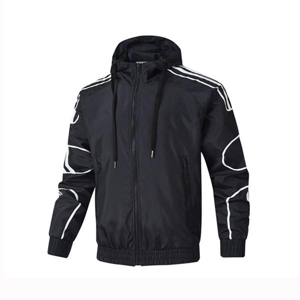 Мужские Дизайнерские Куртки Ветровки Активные Толстовки На Молнии Марка Повседн