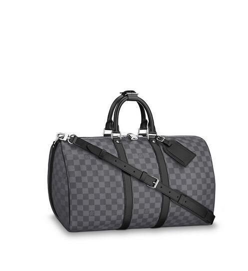 N41418 Keepall Bandoulière 45 мужские сумки знаковые сумки ТОП ручки сумки на ремне сумки крес