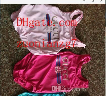 In elling high end one piece baby girl jump uit wimwear printing letter wim uit kid beach clothing 2t 8t a l1 guc 547