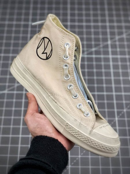 Под прикрытием Новые воины Простой ЧАК 70-х годов 2.0 HI Zip Все повседневная обувь из плотной ткани 1970-х Мужские кроссовки Спортивные женские дизайнерские кроссовки