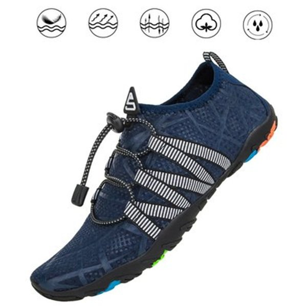 Summer Shoes Men Breathable Aqua Shoes Women Rubber Sneakers Adult Beach Slippers Upstream Shoes Swimming Sandals Diving Water Sports Socks