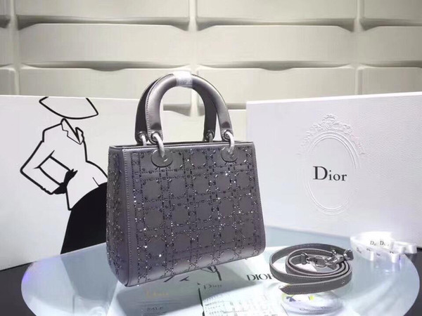 new 2019 brand femme handbags diamond zipper classic handbags purses crossbody bag wallet backpack purses bag (475112588) photo
