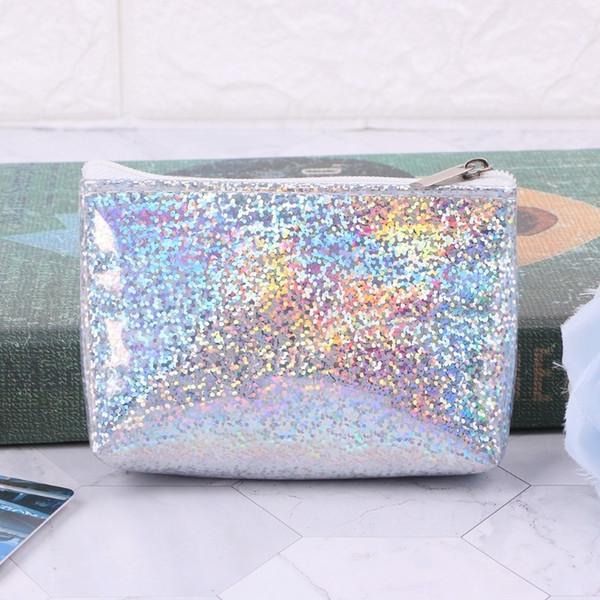 designer coin purse key pouch women sequin coin purse mini wallet money bag pouch key card holder sweet girl (475723982) photo