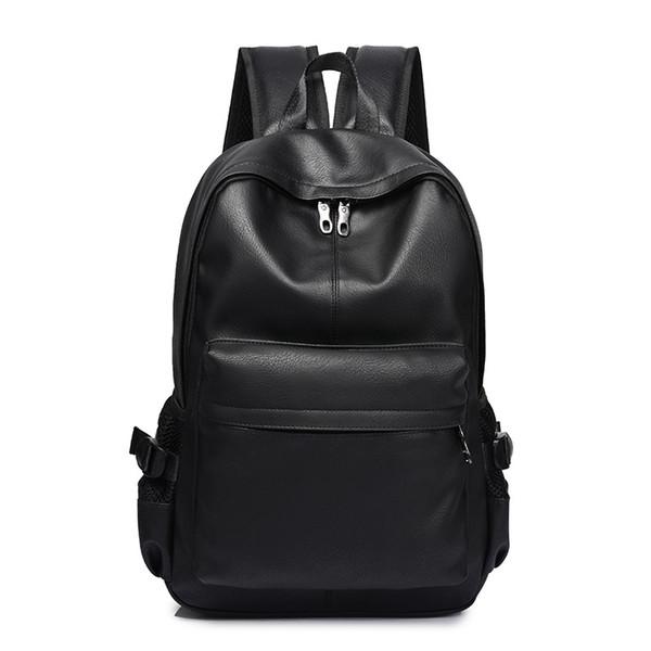 Новая мода мужчин Рюкзак Мужские рюкзаки для Подростковая Роскошная Кожа PU Рюкза