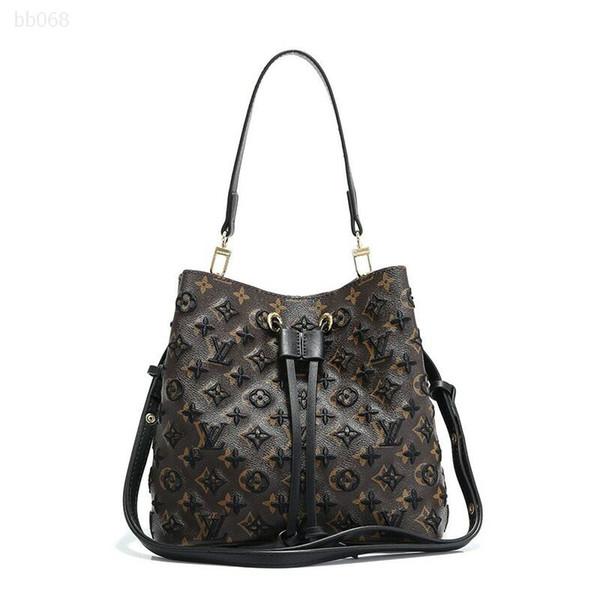 luxurys genuine custom handbag fashion pattern embossed leather tote purse luxury bag mid size portable checkered for girl (515711655) photo